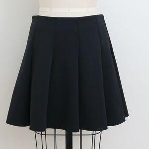 Top Shop black skater skirt size 8